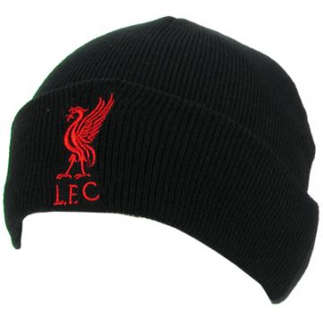 Liverpool FC Knitted Hat TU BLK